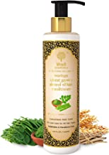 Khadi Essentials Moringa Hair Conditioner with Neem, Amla, Almond Oil Shea Butter For Dry, Damaged Frizzy Hair, 200ml SLS Paraben Free