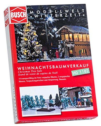 Busch 1182 - Weihnachtsbaumverkauf, Fahrzeug