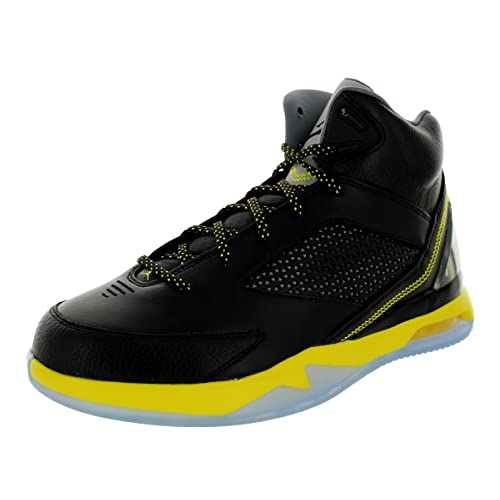 679680-070  AIR Jordan Flight Remix Mens Sneakers AIR JORDANBLACK Vibrant  Yellow 1526bffd1ebe