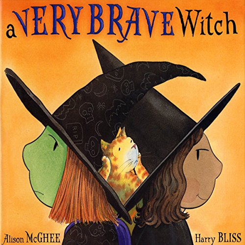 A Very Brave Witch audiobook cover art