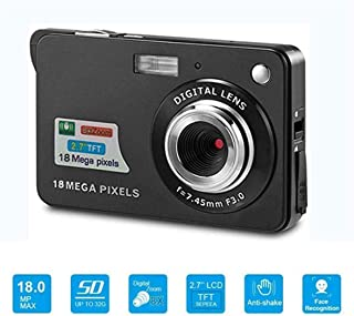 EMEBAY - 2.7 inch 18 MP Compact HD Digital Camera for Holiday, Kids, School, Students, Family