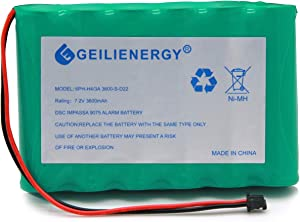 GEILIENERGY 6PH-H-4/3A3600-S-D22 7.2v 3600mAh Ni-MH DSC IMPASSA 9057 Battery Wireless Security System