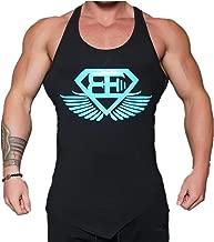 KODOO Uomo Palestra Fitness Canotta Smanicato Allenamento Bodybuilding Canottiera Gym Cotone Sportivo Sport Tank Top
