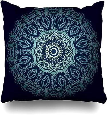Funda de almohada de meditación Meditación A-rabesque Henna ...