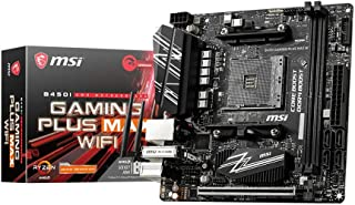 MSI B450I Gaming Plus MAX WiFi - Placa Base Performance Gaming (AMD Ryzen, 3000 3rd Gen ryzen, AM4, DDR 4, M.2, USB 3.2 Ge...