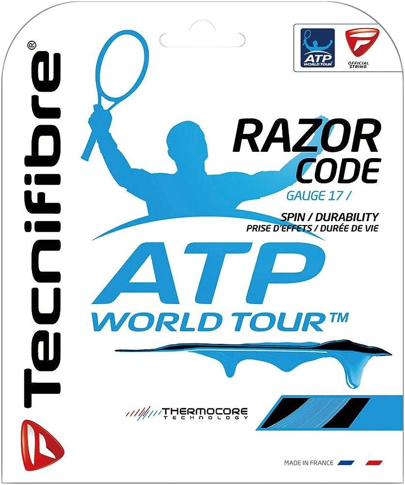 Tecnifibre ATP Razor Code Set-Blue-18 Tennis Many popular brands Outstanding String