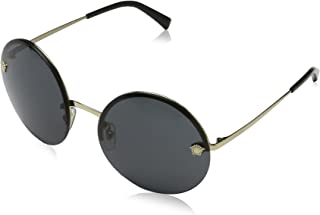 Versace Women's Round Medusa Sunglasses