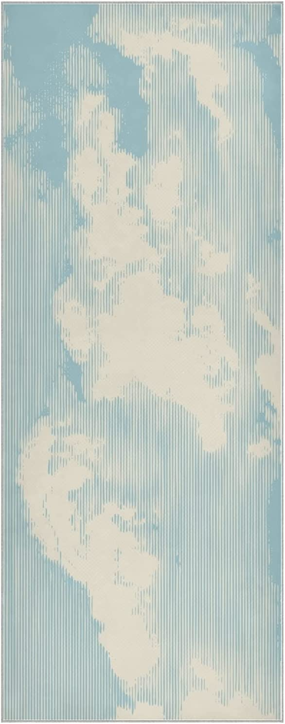 JRDD Vintage Engraving Clouds Max 67% Cheap super special price OFF Yoga Mats Dry Quick Towel Non
