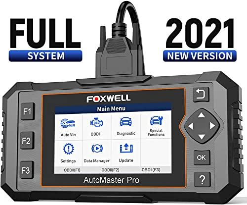 new arrival FOXWELL NT644E All online System Diagnostic outlet sale Scan Tool with 19 Hot Service Reset and NT604 Elite OBD2 Scanner ABS SRS Transmission and Check Engine Code Reader outlet online sale