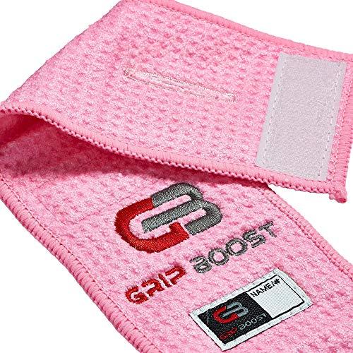 GRIP BOOST American Football Field Towel, pink