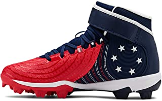 Under Armour Kids' Harper 4 Mid Rm Jr. Limited Edition Baseball Shoe