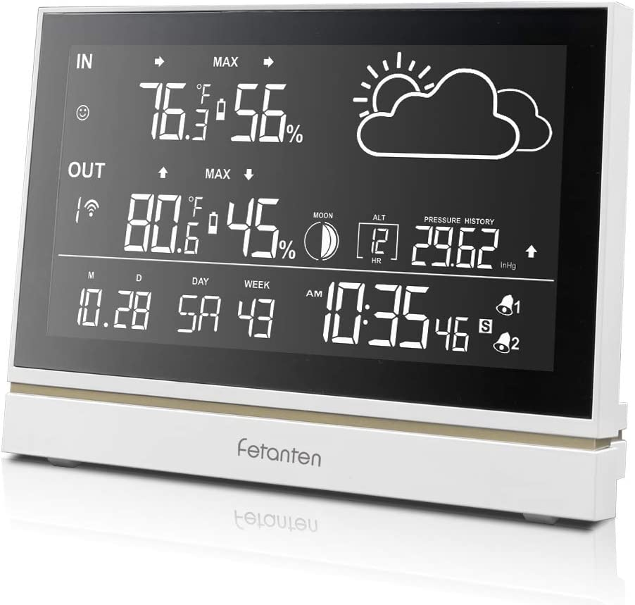 Wireless Milwaukee Mall Weather Station Japan Maker New with Indoor Sensor Outdoor and