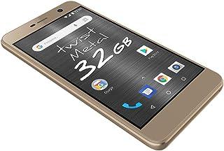 """Smartphone Positivo Twist S531 32GB Tela 5.2"""" Câmera  8MP Android 8.0 - Dourado"""