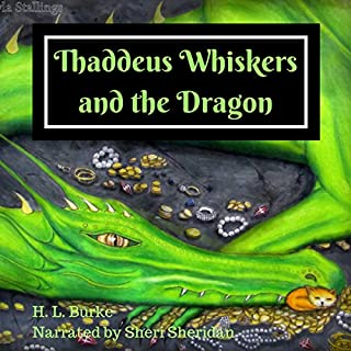 Thaddeus Whiskers and the Dragon audiobook cover art
