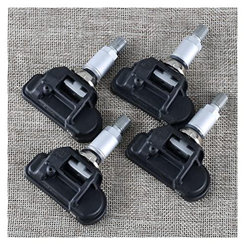 ZHUJUNWEN 4pcs Car TPMS TPMS Presión de los neumáticos Sistemas Sensor A0009050030 FIT para Mercedes-Benz C250 C300 C350 C63 AMG CL550 CL600 CL63 AMG