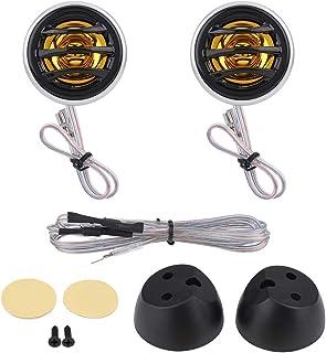 KIMISS 2Pcs 12V 150W Car Mini Super Power Loud Dome Audio Stereo Speaker Tweeter Loudspeaker Horn