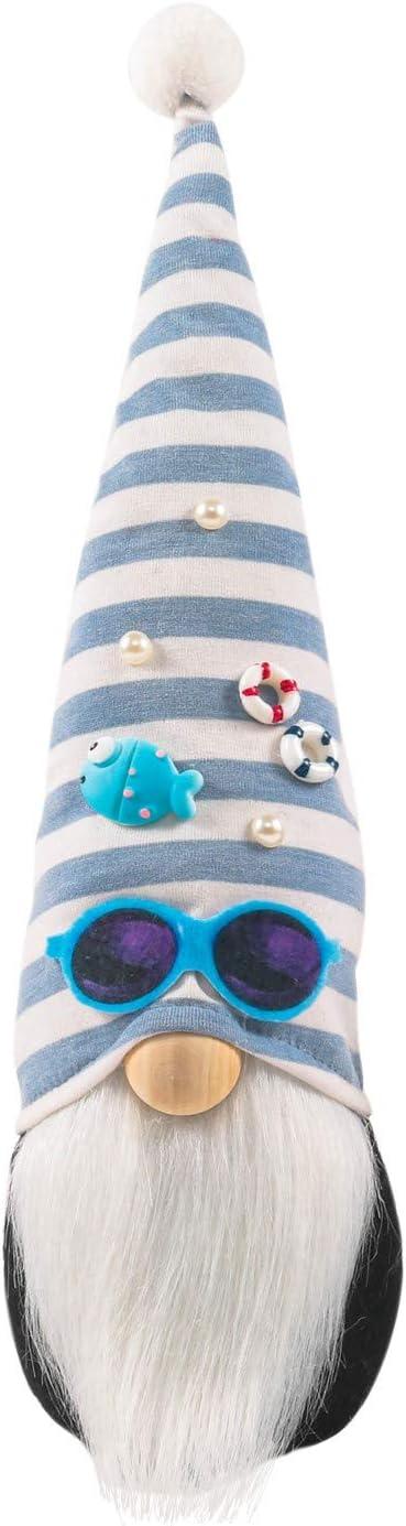 1 Omaha Mall PC Ocean Festival Max 45% OFF Gnome Doll Deep Blue Luckily Faceless