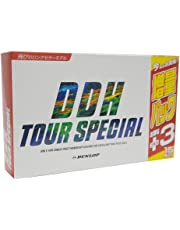 DUNLOP(ダンロップ) ゴルフボール DDH ツアースペシャル ボーナスパック 15個入り ホワイト