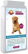 Uploria Pet World Suplementos Articulares para Perros - 120 Comprimidos con Sabor A Pollo Formulada por Veterinarios para Perros Y Gatos Alivio del Dolor Provocado por La Artritis para Perros