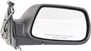 Kool Vue JP30ER Jeep Grand Cherokee Passenger Side Power Primered Corner Mount Mirror