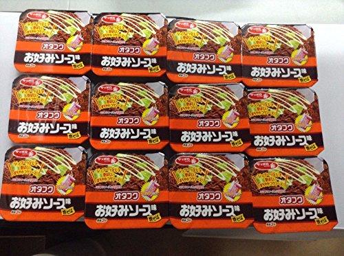 サンヨー食品 サッポロ一番 オタフクお好みソース味焼そば 124g×12個入