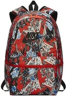 Heritage Orange Floral 15 Inch Laptop Backpack