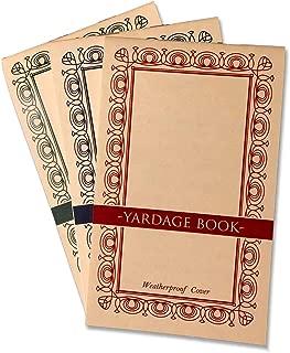 Golf Yardage Books (3 Pack) PGA Template, 2019 USGA Conforming, Weatherproof Cover