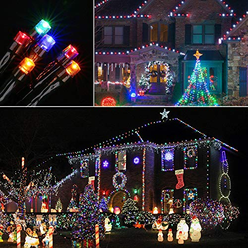 Lyhope Christmas Lights, Low Voltage 72ft 200 LED Christmas Decorative Lights - with 30V UL Certified Power Supply Adapter String Lights for Indoor, Wedding and Holiday Decorations (Multi-Color)