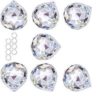 Crystalsuncatcher Crystal Ball Prism Pendant Glass Chandelier Hanging Pendant Feng Shui Suncatcher Wedding Home Window Déc...