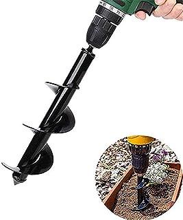 GU YONG TAO Ägare Drill Bit – trädgårdsväxt blomlök ägg Rapid planter, glödlampa och beetplantering ögre lämplig för el- e...