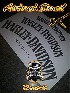 Best harley davidson stencils for airbrushing Reviews