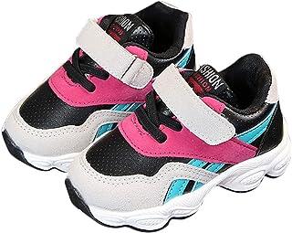 DEBAIJIA Filles Garçon Chaussures de Sport 2-5 Ans Réseau Enfant Tissu Occasionnel Douce Mode De Mode Non-Slip Mignon Bask...