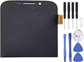 Dishikun Superior LCD Screen and Digitizer Full Assembly for BlackBerry Classic Q20(Black) (Color : Black)
