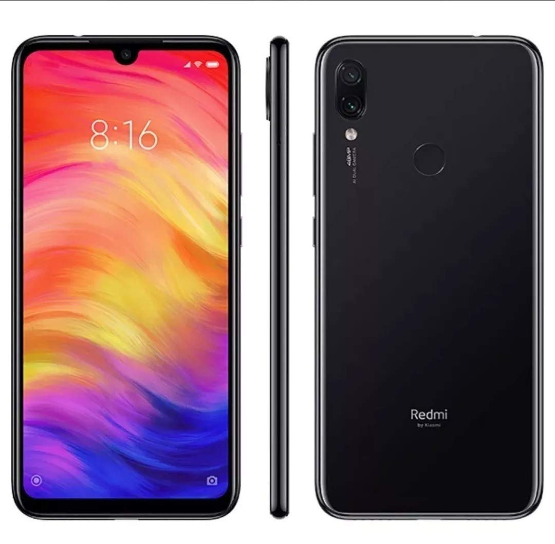 Xiaomi Redmi Note 7 Dual SIM 32GB 3GB RAM Black: Xiaomi: Amazon.es ...