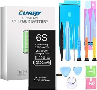 EVARY Batería de 2200 mAh para iPhone 6S ,Reemplazo con una Mayor Capacidad Que Otras baterías, y Herramientas Completas d...