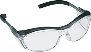 3M Nuvo Protective Eyewear, 11411-00000-20 Clear Anti-Fog Lens, Gray Frame (Pack of 20)