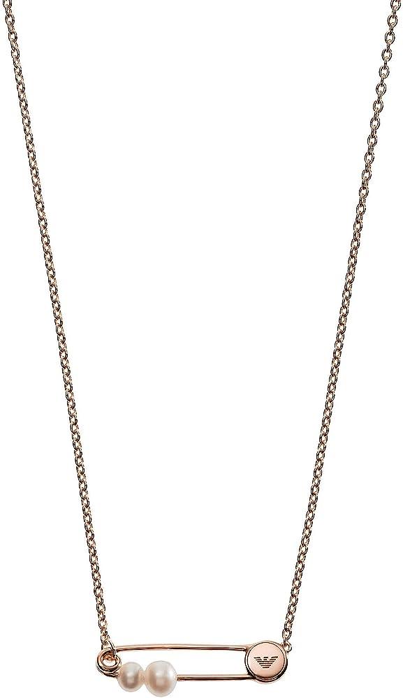 Emporio armani catena donna argento 925 EG3379221