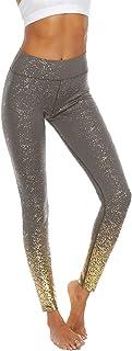 Dawwoti Running Pants for Women Full-Length Active Leggings 4 Way Stretch Running Pants