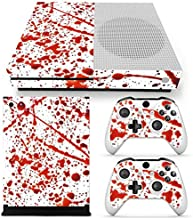 GoldenDeal Xbox One S Console and Wireless Controller Skin Set - Blood - XboxOne S Vinyl