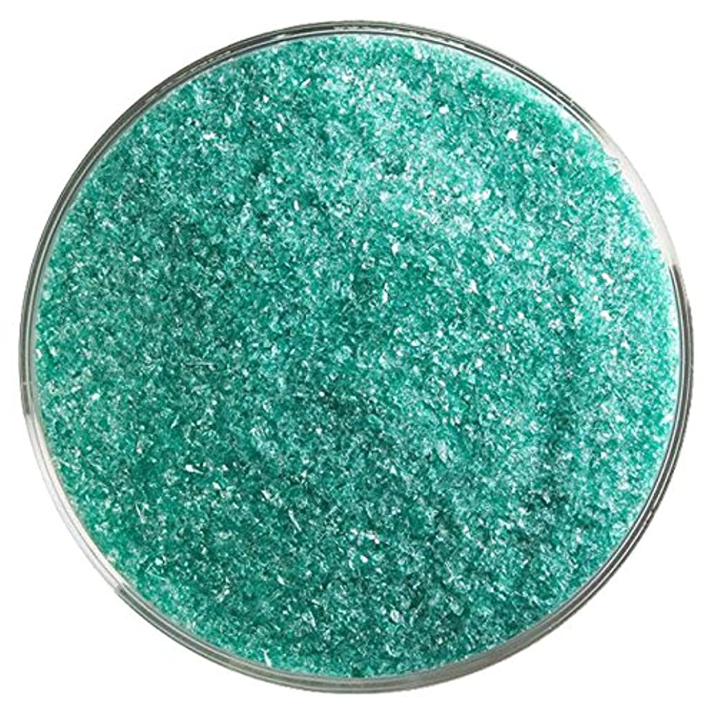 Emerald Green Transparent Fusible Glass Fine Frit - 4oz - 90COE - Made from Bullseye Glass