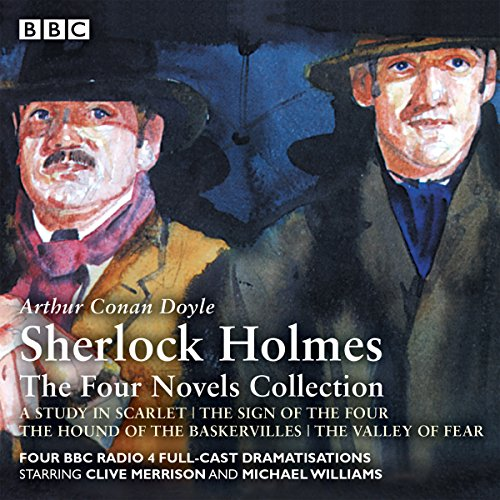 Page de couverture de Sherlock Holmes: The Four Novels Collection