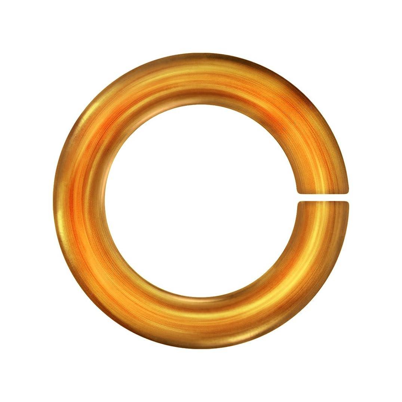 Weave Got Maille 18-Gauge 3mm Pumpkin Anodized Aluminum Jump Rings - 1 Ounce
