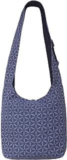Vishes Unisex Umhängetasche Schultertasche - Tasche zum Umhängen für die Schulter Facetten Bumen
