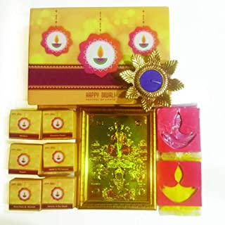 ARVANA puja Kits poojan samagri Box for Diwali Pooja & Diwali Gifts Complete puja samagri Items