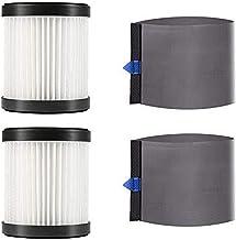MooSoo - 2 filtros HEPA y 2 Mangas de Malla para aspiradoras