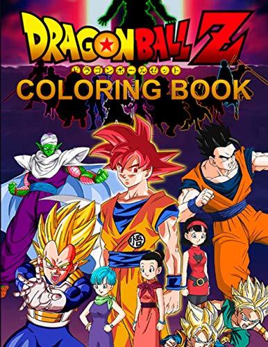 Dragon Ball Z Coloring Book: High Q…
