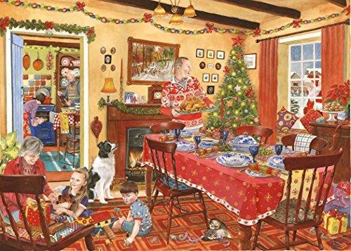 1000 Piece Jigsaw Puzzle - 2013 Édition Collector No.8 de Noël - Invité Inattendu - \