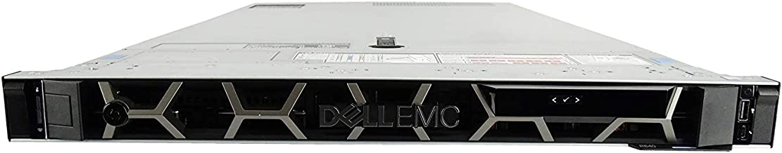Dell EMC PowerEdge R640 8 Bay SFF 1U Server, 2X Bronze 3106 1.7GHz 8 Core, 48GB DDR4, 4X 1.92TB SATA 2.5 SSDs, 2X 750W PSUs, no Rails (Renewed)