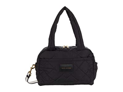 Marc Jacobs Quilted Nylon Small Bag (Black) Duffel Bags
