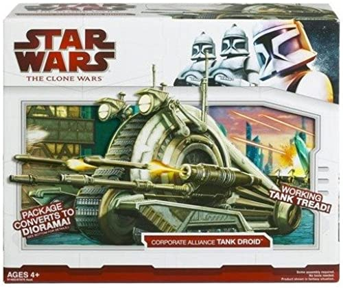 STAR WARS - The Clone Wars - Corporate Alliance Tank Droid